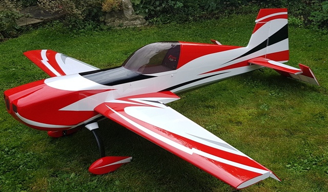 Flight Style Extra 300sc 50-60cc (Red)