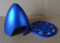 Aluminium Spinners(Blue Anodised)