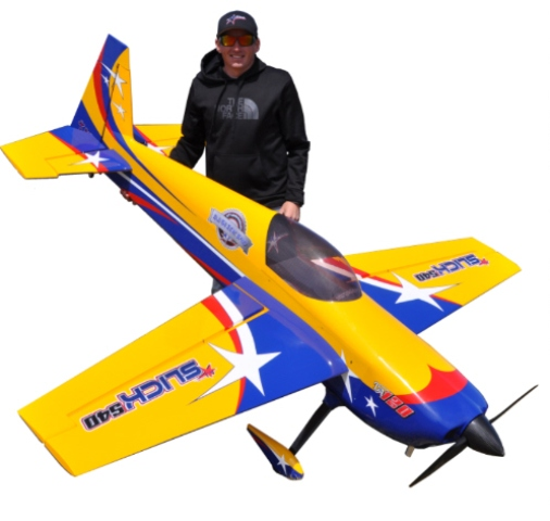 AJ Aircraft Slick 540 103