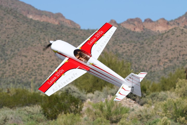 AJ Aircraft Laser 60