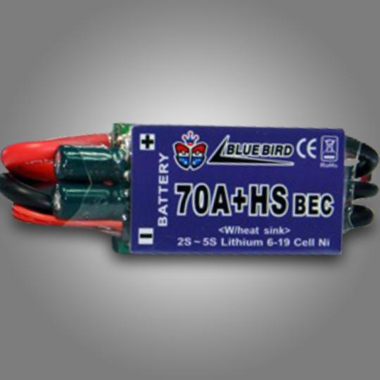 Bluebird Electric Speed Controller 70Amp