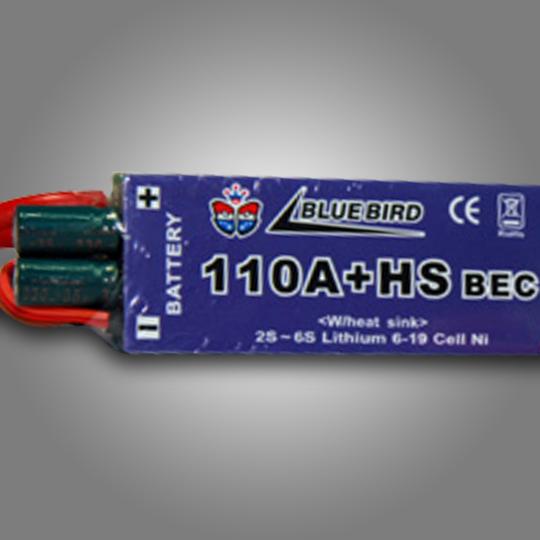 Bluebird Electric Speed Controller 110Amp+HS