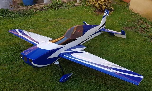 Flight Style Extra 50-60cc (Blue)