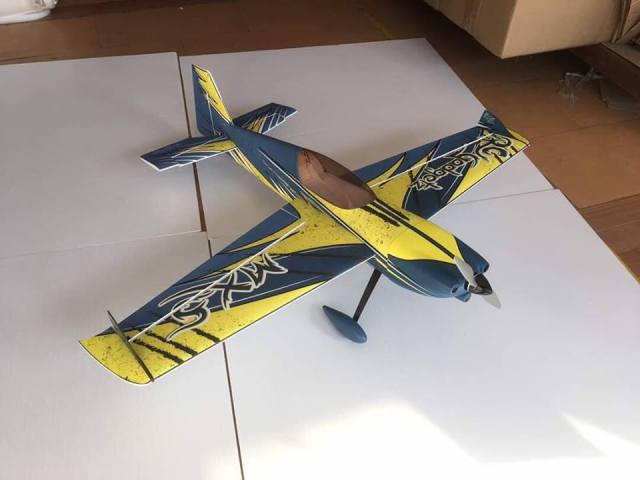 """RC Gadgetz MXS 54"""" Firebird Teal"""