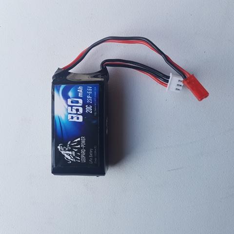 Leopard LiFe Batteries 6.6v850/20c