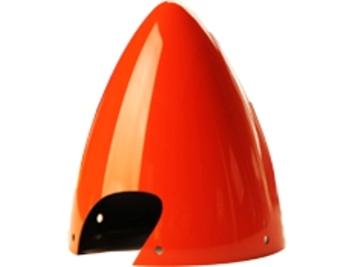 "Falcon Carbon Fibre Spinner 4"" Red"